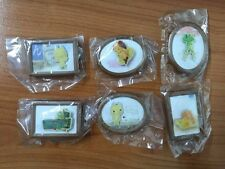 Play Station - Sony Cat - Toro - Doko - Pin & Photo Pic Frame Set of 6 Bandai