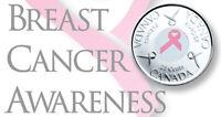 2006 Canada  Quarter  25 cents - Breast Cancer Awareness
