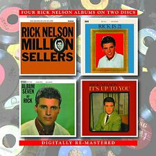 Rick Nelson Million Sellers/Is 21/Album Seven/It's Up To You 2-CD NEW SEALED