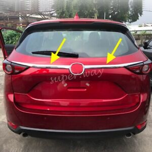 Tailgate Trunk Cover Trim For Mazda CX-5 KF 2017-2021 Molding Accessories Strip