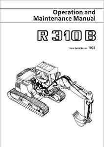 Liebherr R310b Hydraulic Excavator Operation & Maintenance Manual (B301)