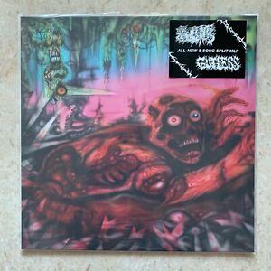 GUTLESS / MORTAL WOUND Split MINI LP