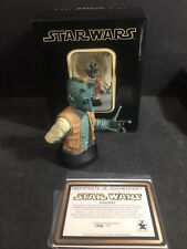 Gentle Giant Star Wars Greedo Collectible Bust 1668/7500 Bounty Hunter