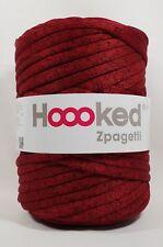Hoooked `Zpagetti Stoffgarn Lollipop Spickles/Kaminrot Ton meliert` Neu 766