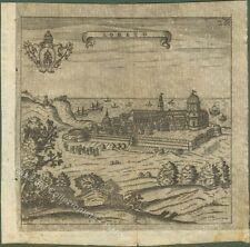 LORETO. Veduta generale. Dall'opera di Francesco Scoto, anno 1670