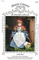 """DOLL CLOTHES - 14"""" Tall and CLOTH DOLL Craft Pattern - LITTLE RED - Uncut - New"""