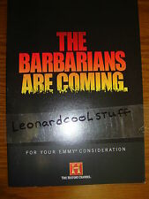 THE BARBARIANS ARE COMING EMMY DVD HISTORY CH VIKINGS GOTHS BATTLE ADRIANOPLE