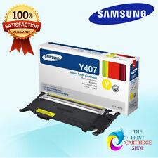 New & Original Samsung CLT-Y407S Yellow Toner Cartridge CLP320N CLP-325 CLP325W