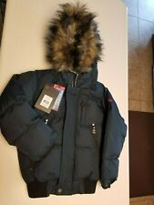 Water Resistant/Breathable Kids Puffer Coat Size 6 Nwt Navy