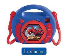 Lexibook Rcdk100sp Spiderman reproductor de CD infantil with 2 juguete