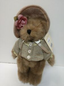 """SEYMOUR MANN The Bear Collectibles new on stand 14"""" tall hat sweater girl bear"""