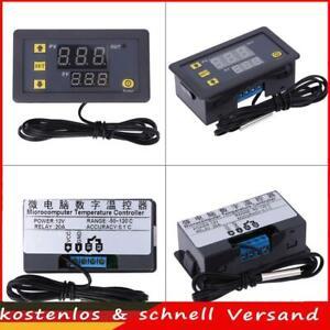12V  20A Thermostat Temperaturregelung Schalter Regler Thermometer LED -55-120°C