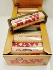 Full Box 12 RAW 79mm Cigarette Roller Rolling Machine Plastic Papers 1 1/4