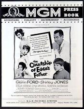 COURTSHIP OF EDDIE'S FATHER 1963 Glenn Ford, Shirley Jones UK PRESSBOOK