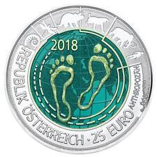 Österreich 25 Euro 2018 - Anthropozän Silber – Niob