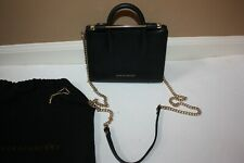 Authentic Strathberry Black Nano Tote with Dust Bag Purse