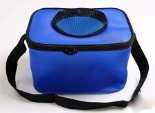 Bolsa cubo de pesca plegable y portatil impermeable pescadores azul pescar rio