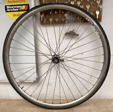 Vintage Campagnolo Hub Rear Bicycle Wheel 700 X 25c Pianni Rim #3576