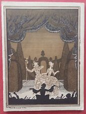 Programme Theatre National L'Opera Comic Louise Daisy Soyer 1927*