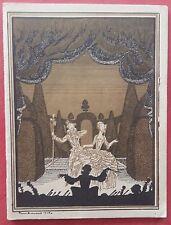 Programme THEATRE NATIONAL DE L'OPERA COMIQUE Werther POCIDALO 1928 *