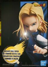 DRAGON BALL Z PVC THE ANDROID BATTLE STATUE ANDROID 18