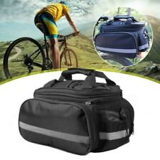 MTB Cycling Bicycle Bike Bag Rack Back Rear Seat Tail Carrier Trunk Pannier AU