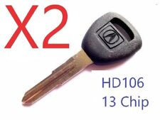 X2 Acura HD106 Transponder Chip (13) Key with LOGO  TOP Quality USA Seller