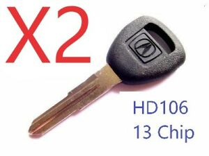 Replacement Transponder Key Blank Fits 01 02 03 04 05 06 Acura MDX RSX
