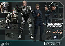 HOT TOYS 1/6 ROBOCOP MMS266 BATTLE DAMAGED & ALEX MURPHY 2-PACK SET FIGURE
