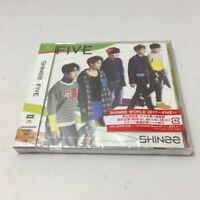 SHINEE FIVE NEW JAPAN CD Free Shipping SEALED