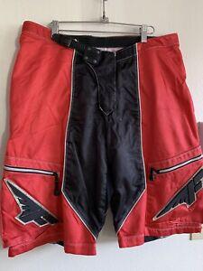 Fly Racewear Free Ride Short Motorcross Mens Size 38 Shorts Pants Red Black Gray