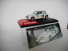 Die cast 1/43 Renault 5 Turbo 2 1984 Criterium Luis De Baviera M B   by Ixo