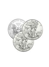 Lot of 3 Silver 2021 American Eagle 1 oz. Coins .999 fine silver Us Eagles 1oz
