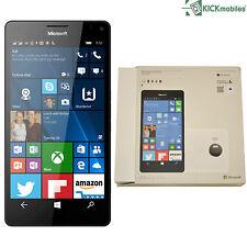 NUOVO CON SCATOLA Microsoft LUMIA 950 XL 32gb rm-1116 DUAL-SIM Bianco sbloccato di fabbrica SIMFREE