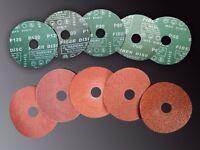 Discos de fibra 115x22  P100 (Pack de 100 unidades)