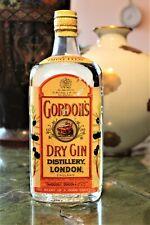 Gin - GORDON'S DRY GIN TANQUERAY SPRING CAP CLIP RARO FLACONE ANNI 50/60 Cl.75 /