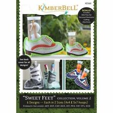 "Kimberbell ""sweet Feet"" Collection Volume 2 Machine Embroidery KD560"
