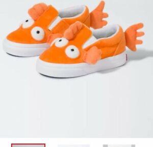 Simpsons x Vans BLINKY fish Slip-on Toddler 4.5T IN HAND