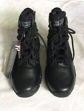 "Belleville Tactical Research Chrome Black Mens 6"" Side Zip Boots Size 7W"