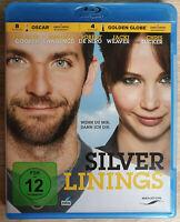 Silver Linings Bluray Jennifer Lawrence Neuwertig Bradley Cooper Blu-ray De Niro