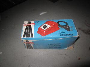 Carrera Universal 132   Trafo 710 rot ohne OVP
