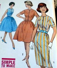 *LOVELY VTG 1960s DRESS Sewing Pattern 12/32