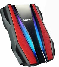 ADATA HD770G 2TB DURABLE Xbox & PS4 EXTERNAL HARD DISK W/RGB LIGHTING RED