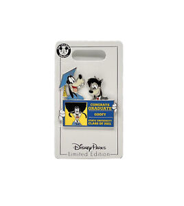New Disney Parks Graduation Day 2021 Goofy & Max Congrats Graduate Pin LE 4000