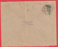 TIMBRE COUPE EN DEUX MARIBOR SLOVENIE YOUGOSLAVIE POUR MARIBOR 1921 LETTRE COVER