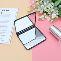 1 Pcs Makeup Mirror Double-Folded Square Compact Mirror Small mirror for Outdoor