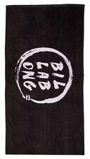 drap/serviette de bain/plage BILLABONG 75 x 150 cm noir/blanc - neuf