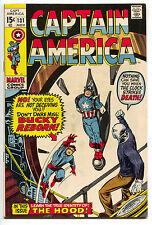 Captain America 131 Marvel 1970 FN VF Baron Strucker Clock Face Bondage
