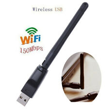 150M USB 2.0 WiFi Wireless Network Card 802.11b/g/n LAN Adapter  Antenna GN FD