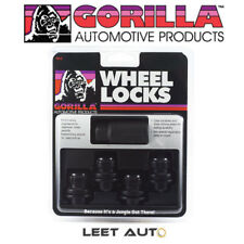Gorilla Wheel Locks, Black, Toyota/Lexus Factory Style - 12mm x 1.50 - 73631TBC